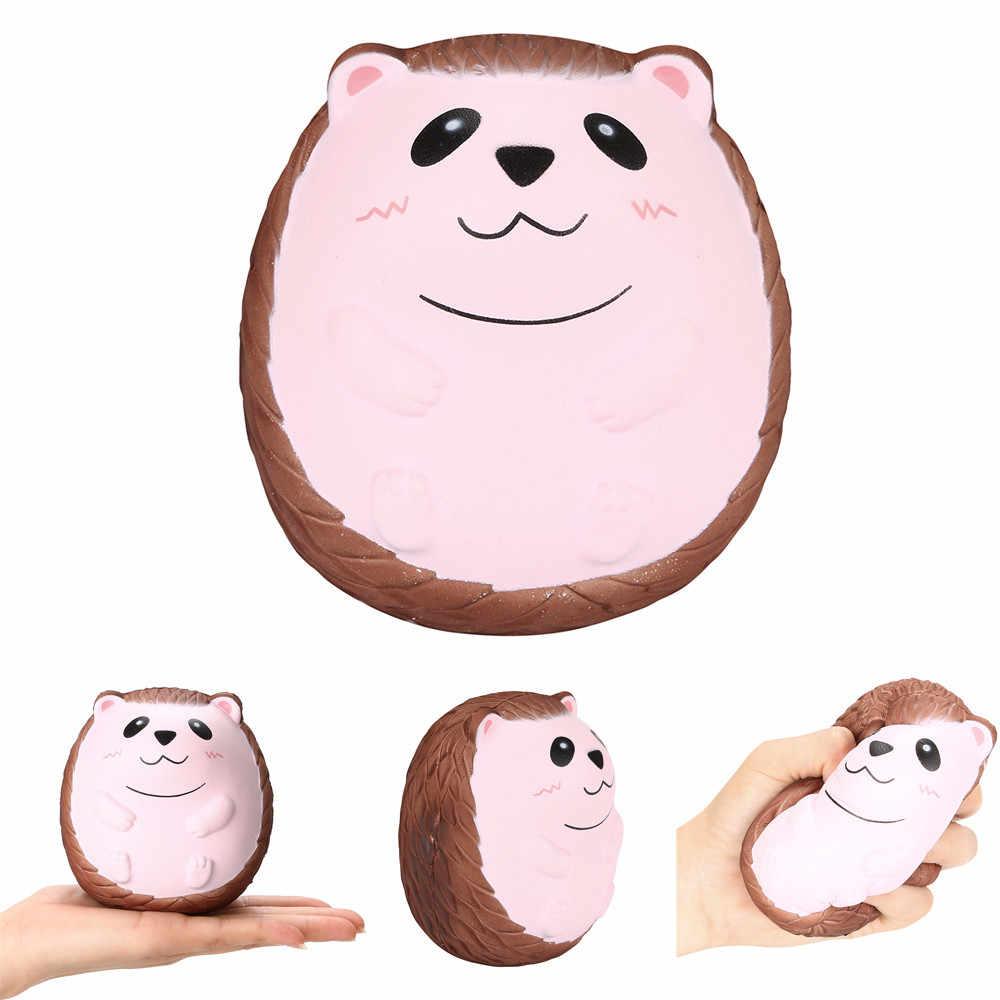 Brinquedo Ouriço Bonito Perfumado Mole Mole Charme Lento Subindo Para Aliviar O Estresse Squeeze Toy Dezembro 24