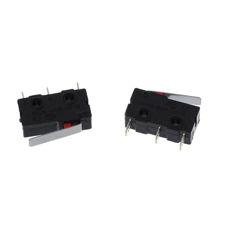 5 шт. путешествия концевой выключатель 3 Pin N/O N/C 5A 250VAC KW11-3Z микро-переключатель