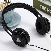 HENA High Quality Cartoon Cute Headphone Best Kids Birthday Gifts Big Children Earphone Headphones For MP3