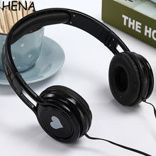 HENA High Quality Cartoon Cute headphone Best Kids Birthday Gifts Big Children Earphone Headphones for MP3 MP4 Tablet SmartPhone