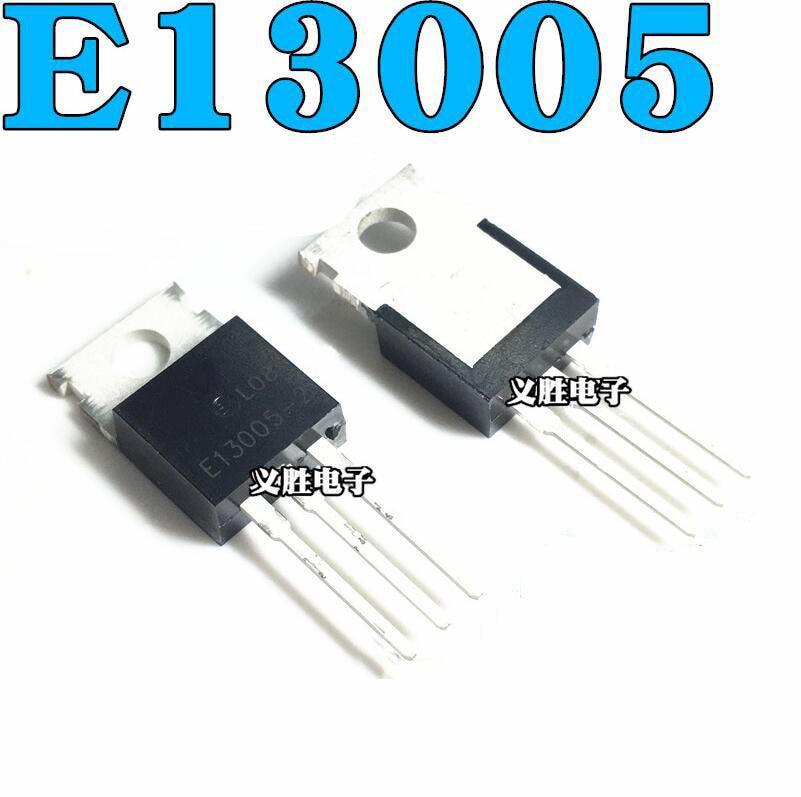 10PCS MJE13005 E13005-2 TO-220 13005 TO220 MJE13005A New Original