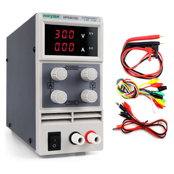 KPS3010D Mini LED Digital Adjustable DC Power Supply 0~30V 0~10A ,110V-220V,  30V 10A Switching Power Supply 0.1V/0.01A