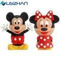 LEIZHAN USB Flash Drive Mickey&Minnie 4g 8g 16g 32g pen drive  External  Storage  Memory PenDrive memory stick usb flash card