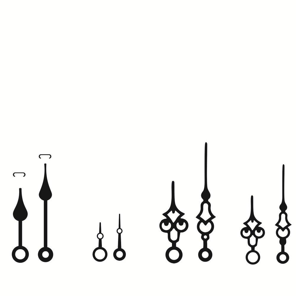 100 Sets Wall Clock DIY Repair Tool Hands Quartz Clock Movement Mechanism Parts Kit Replacement Essential Tools Shaft 28mm