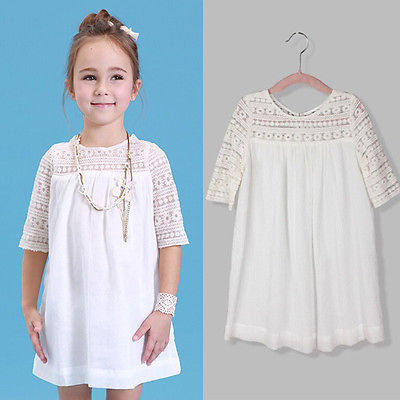 Aliexpress.com : Buy 2016 New Kids Baby Girls White Chic Fairy ...