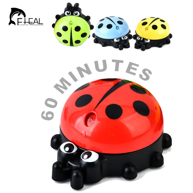 Fheal Cute Cartoon Ladybug Kitchen Timers 60 Minutes Cooking Mechanical Home Decoration Kitchen Tool China