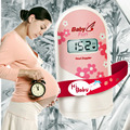 On Sale Babyfun baby monitor + 2.5mhz LCD Screen! Fetal doppler Cute Pink Prenatal monitor earphone+video cable