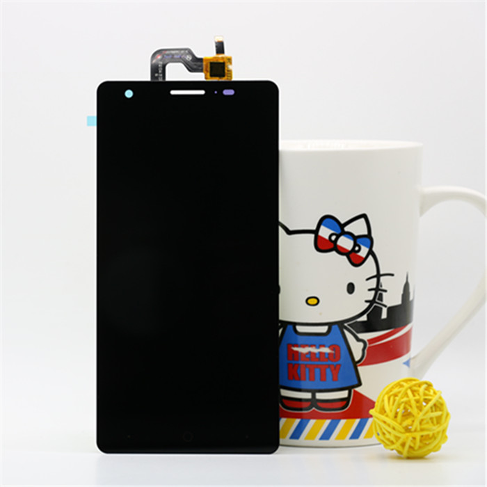 ФОТО black white in stock 100% New Touch Screen Digitizer + Display LCD assembly For ZOPO ZP720 with high quality
