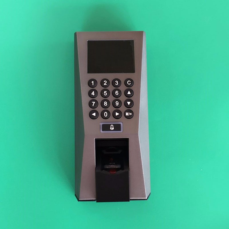 dhl free shipping face fingerprint password time clock attendance english interface zk iface7 face recognition access control ZK F18  Fingerprint Access Control Time Attendance biometric Recognition System TCP/IP For Door Access Controller
