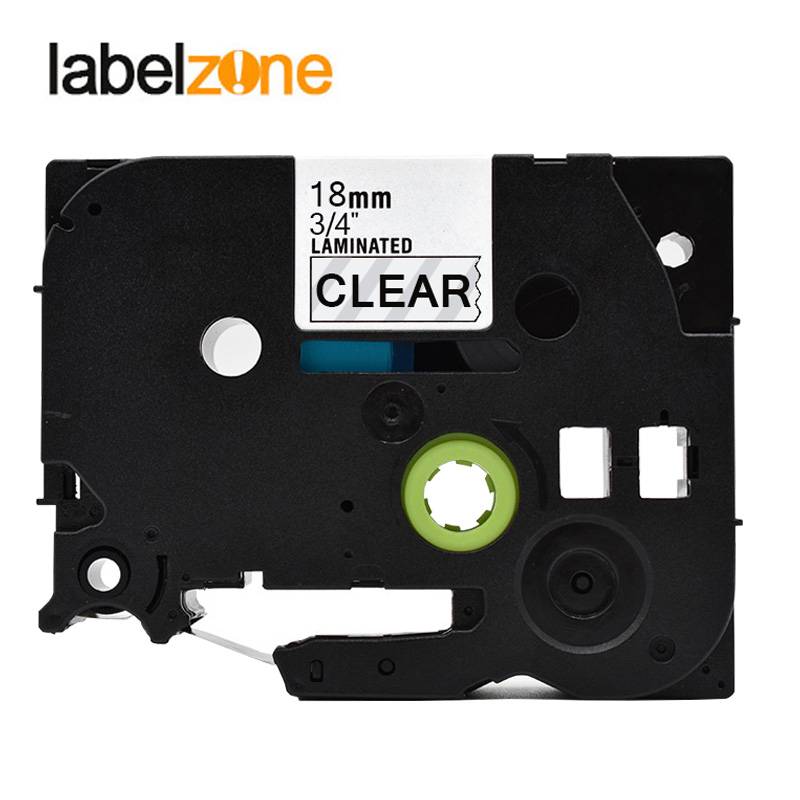 6PK TZ-S251 TZe-S251 Black on White Label Tape For Brother P-Touch PT-2500PC 1/""