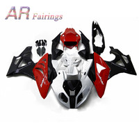 For BMW S1000RR 09 14 Full Fairing Kit Injection Cowlings Advanced UV lighted W/ Screws S1000 RR 2009 2014 12 13 11 10 Red Black