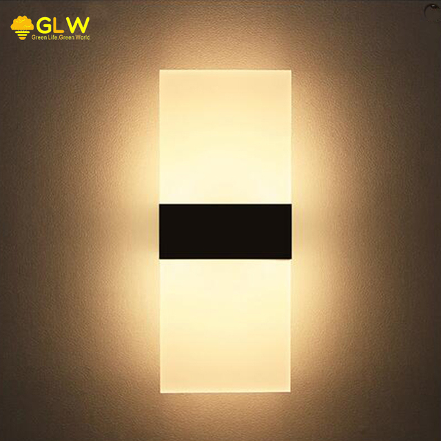 Aliexpress.com : Buy GLW Modern Wall Light Sconce Living Room LED Wall Mount 3W 6W 8W Applique ...