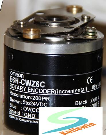 E6H-CWZ6C 200P/R photoelectric encoder / Hollow encoder / incremental encoder. omron encoder 1000p r e6b2 cwz6c pulse photoelectric incremental rotary encoder