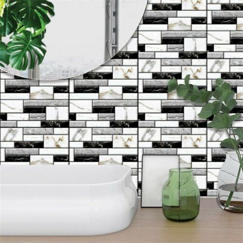 Image 3 - Home Office 3D Brick Waterproof Wall Sticker Self Adhesive Panel Décor Removable-in Wall Stickers from Home & Garden