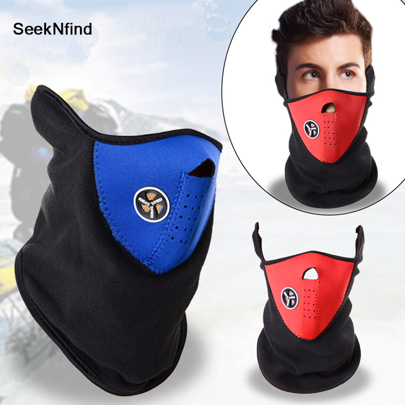Outdoor Sport Cycling Face Mask Windproof Bike Bicycle Ski Snowboard Winter Neck Guard Scarf Warm Mask
