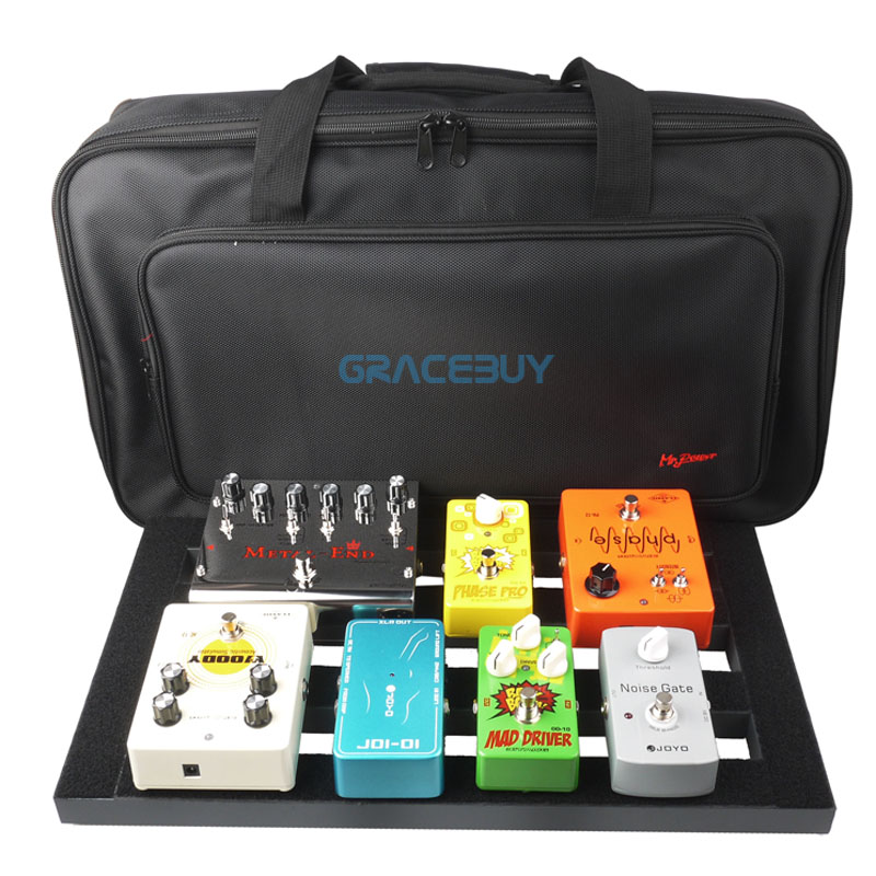 Guitarra pedal de configuración de mesa más grande estilo diy accesorios de inst