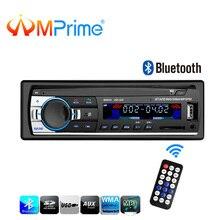 Amprime 12 В 1 Дин Радио Bluetooth Стерео FM MP3 USB SD AUX аудио Авто Электроника Авторадио ото teypleri радио Para