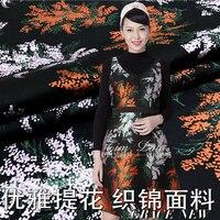 Jacquard yarn dyed fabric / high spring and autumn dress, windbreaker, fashion cloth