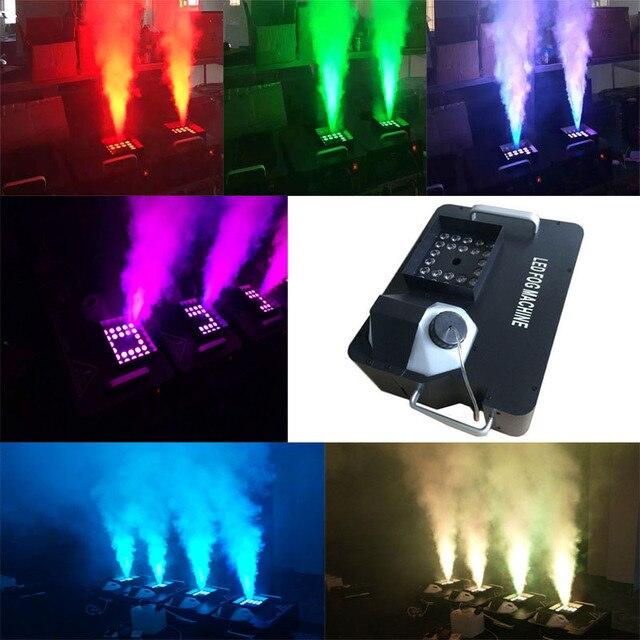 Powerful 1500W DMX Led Smoke Machine with Wireless Remote LED Upword on haunted house lighting effects, led halloween spotlights, led backyard lighting, led halloween strobe lights, led halloween costumes,