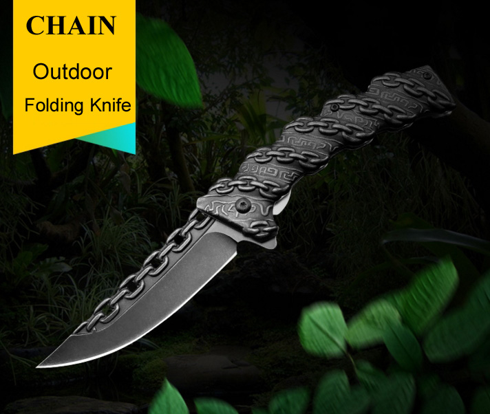 1708231343_14  CHACHAKA Cool Chain Tactical Out of doors Folding Knife Survival Excessive Hardness Pocket Knives Searching Tenting Faca Kitchen Provides HTB1U6ajXDwKL1JjSZFgq6z6aVXa8