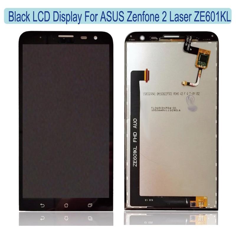 ФОТО ZE601KL LCD Display+Touch Screen Digital Accessroies For ASUS Zenfone2 Laser ZE601KL 6.0