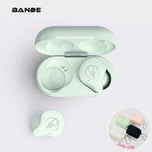 TWS Bluetooth 5.0 אוזניות 3D סראונד אוזניות מגע שליטה עם טעינת תיבת 3000mAh