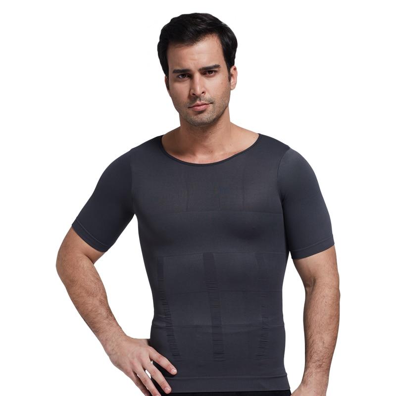 f82361545 Men s body shaper sweat shirt shapewear for men tummy control shapers men  bodysuit slimming shirt plus size shapewear man
