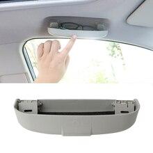 Caja para gafas de decoración de coche, caja de almacenamiento para DACIA SANDERO STEPWAY Dokker Logan Duster Lodgy