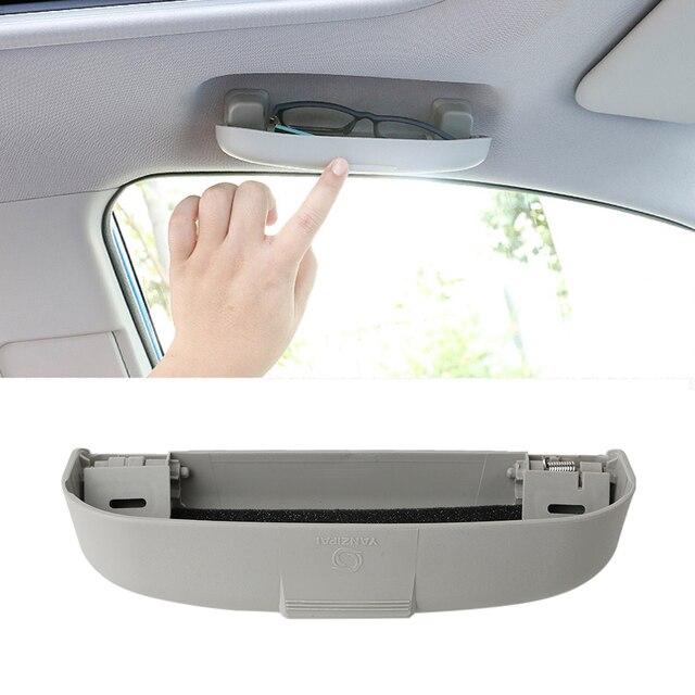 Car styling Glasses Box Storage Box Case For DACIA SANDERO STEPWAY Dokker Logan Duster Lodgy