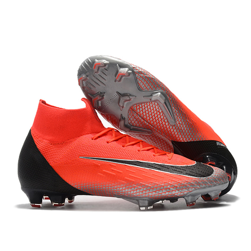 promo code d8629 ea596 Detail Feedback Questions about FANCIHAWAY Football Boots High Top Soccer  Shoes FG Superfly VI Outdoor Original chuteira futbol Soccer Cleats  Wholesale on ...