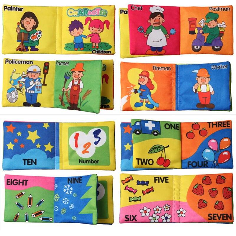 Мягкая ткань для маленьких мальчиков Обувь для девочек Книги шелест Звуковые Детские развивающие коляски погремушка Игрушечные лошадки для новорожденного ребенка 0-12 месяцев