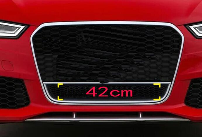 US $15 19 10% OFF|42cm Black Red Big Quattro Letter Emblem Car Styling  Middle Grille Lower Honeycomb Badge for Audi A4L A5 A6L Q3 Q5 Q7 RS3 RS6  S4-in