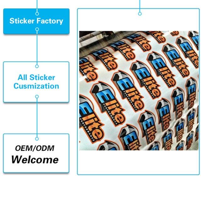 Customizd uv protected outdoor durable waterproof pvc printing car sticker design