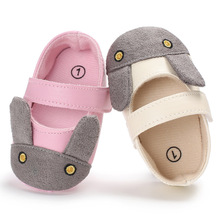 0-1 year old baby girl cartoon princess soft sole anti-skid toddler shoes  L176