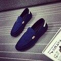 20% OFF 2017 Моды Случайные Мужчины Обувь Мужчины Кожаные Ботинки Мужчины Мокасины Мокасины Поскользнуться на Квартиры Лодка Обувь