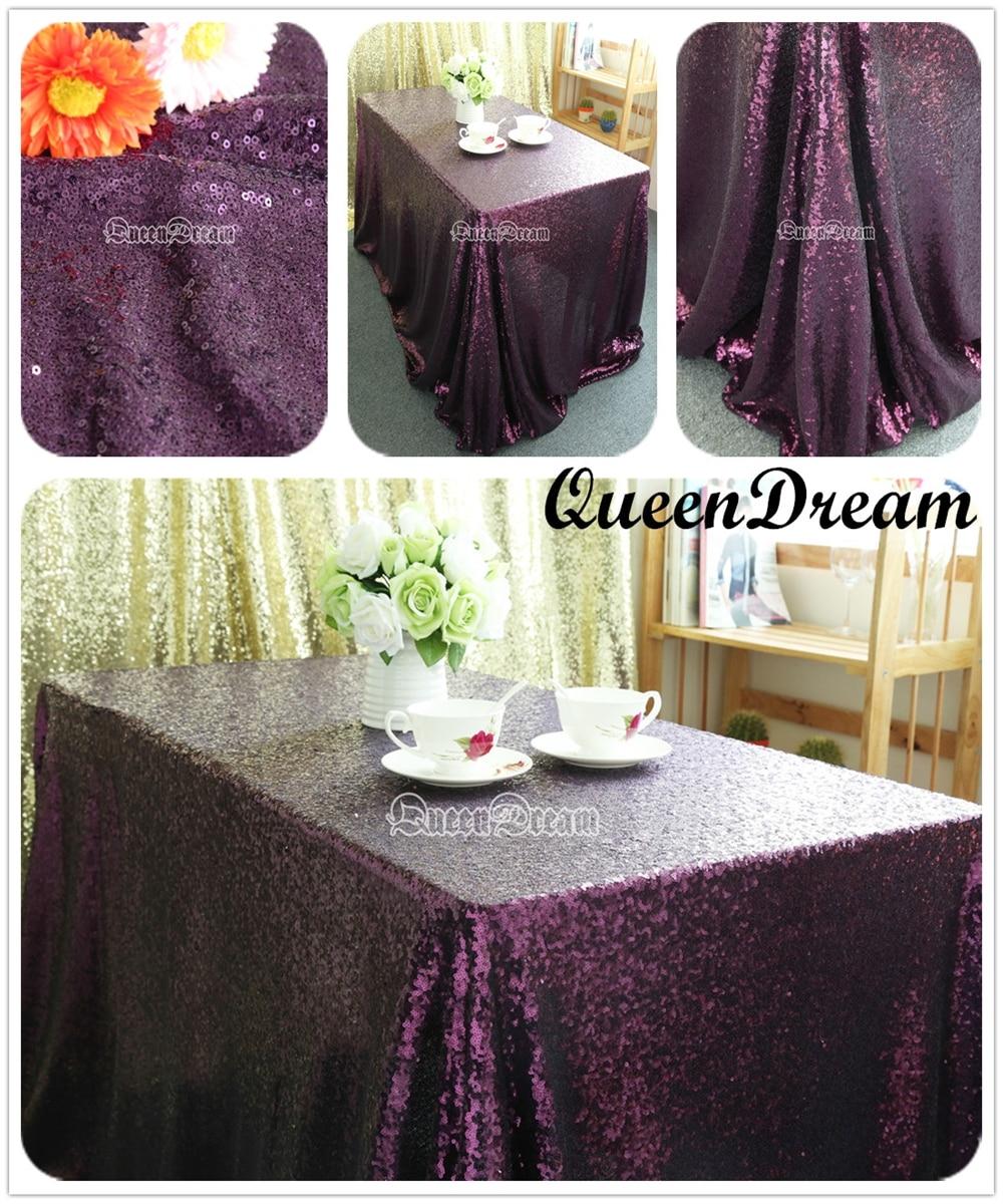 Best Selling Purple Sequin Tablecloth,60u0027u0027x102u0027u0027 Party Sequin Tablecloth,