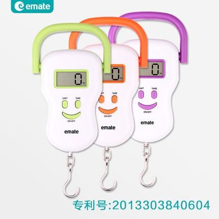 070471 précision portable mini à main électronique balances à ressort sourire express juste équilibre livraison gratuite dans Salle de bains Échelles de Maison & Jardin