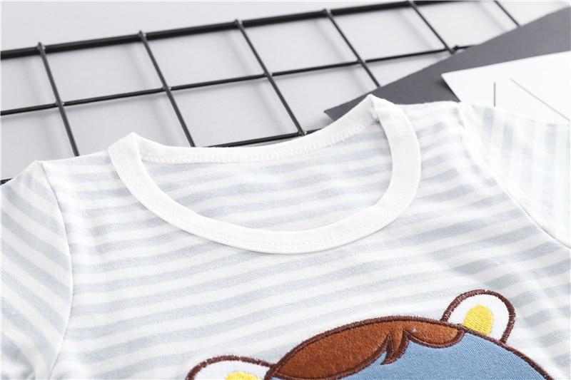 Նոր ամառային մանկական տղաների - Հագուստ նորածինների համար - Լուսանկար 4