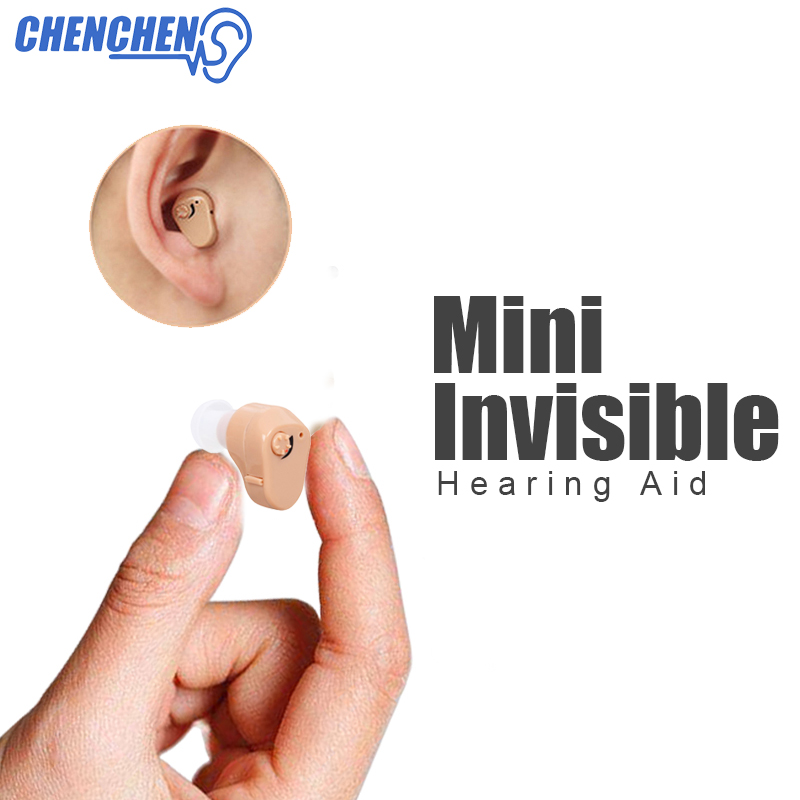 Adjustable In ear Hearing AID Invisible Mini Portable Hearing Amplifier Sound Enhancement for Hearing Loss Elderly