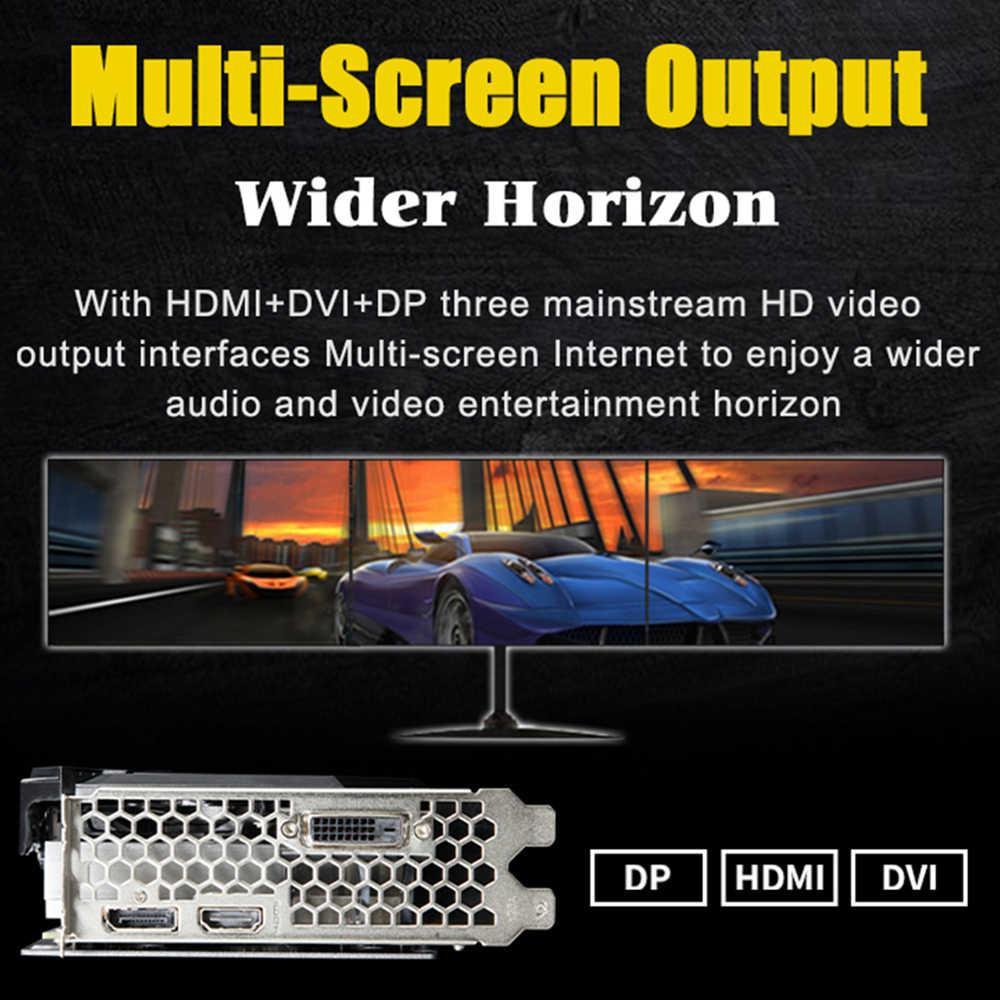 MAXSUN Card đồ họa GTX 1660 Kẻ Hủy Diệt 6G 192bit NVIDIA GDDR5 8000 MHz 1530-1785 MHz HDMI + DP + DVI để bàn card dành cho chơi game
