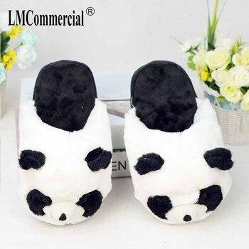 Cotton Plush Special Indoor Soft panda Shoes Men&Women Slippers custom Slipper Cottoon Slipper floor lovers shoes Winter Warm 4