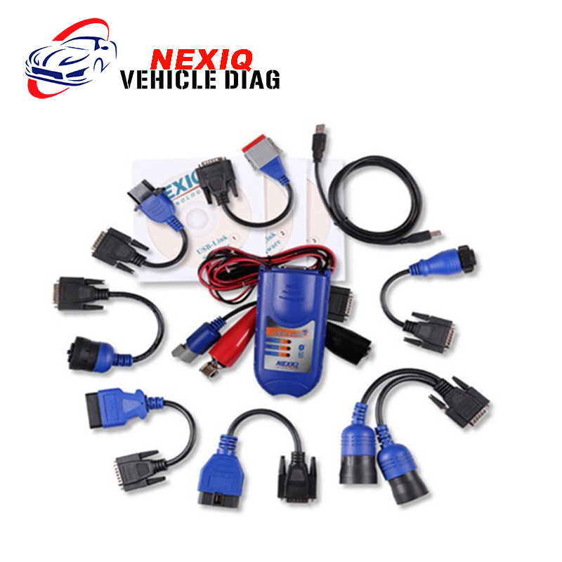 Nexiq 125032 USB Link with Software Auto Diagnostic Interface for Truck Heavy Duty Code Scanner as DPA5 DHL free shipping  цены