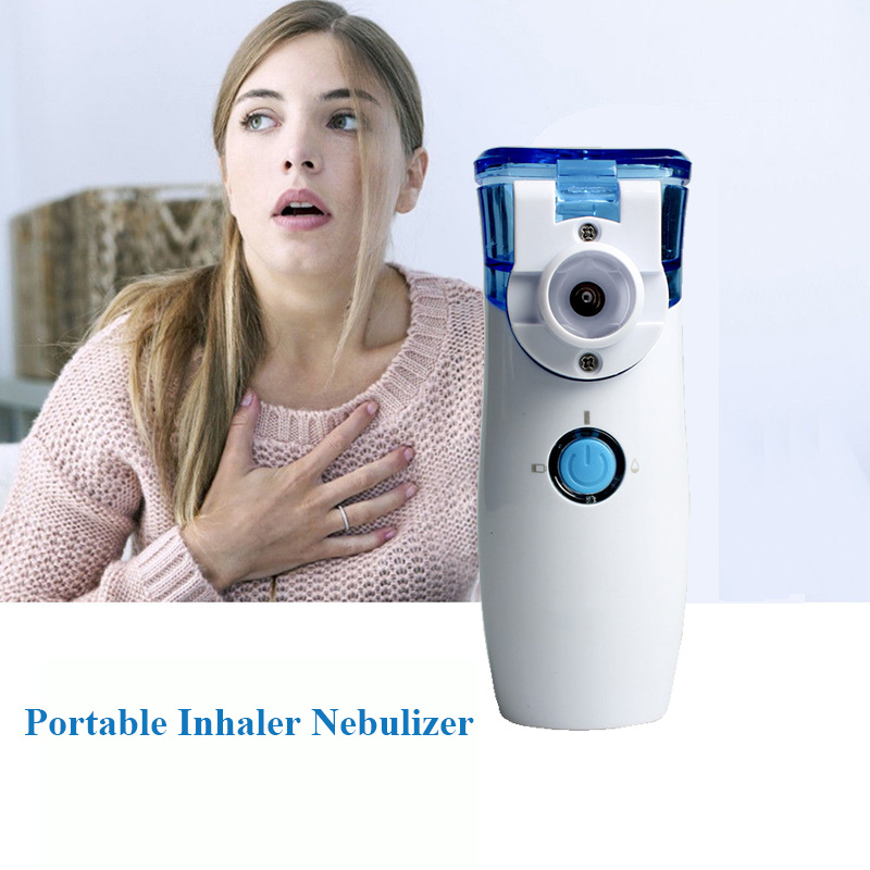 Handheld Ultrasonic Nebulizer Portable Mesh Nebuliser Home Traveling Pocket Humidifier Atomizer Inhaler Nebulizer for Adult Kid бра odeon 2926 1w