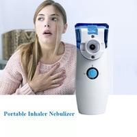 Handheld Ultrasonic Nebulizer Portable Mesh Nebuliser Home Traveling Pocket Humidifier Atomizer Inhaler Nebulizer for Adult Kid