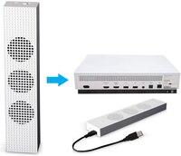Xbox One S Làm Mát Fan với 2 USB Ports Hub và 3 H/L Điều Chỉnh Tốc Độ Làm Mát Người Hâm Mộ Cooler cho Xbox Một Slim Gaming Giao Diện Điều Khiển