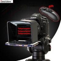 Bestview смартфон Teleprompter для Canon Nikon sony камера фотостудия DSLR для Youtube интервью Teleprompter видео камера