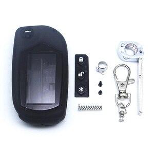 Image 2 - Ücretsiz kargo A91 anahtarı durum anahtarlık Starline A91 A61 B9 B6 kesilmemiş bıçak fob vaka kapak A91 katlanır araba uzaktan kumanda