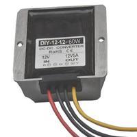 DC 12V (8V 20V) Converter to 12V 5A DC Boost Buck Power Module Voltage Regulator