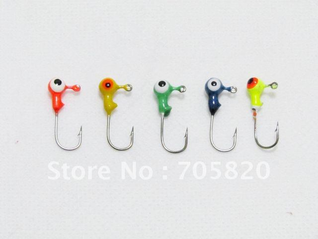 New arrival,High quality 1G lead jig head fish hooks, fishing hook,FISHING LURES HOOK,100pcs/lot,china post freeshipping