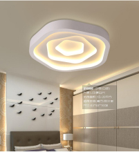 Fashion bedroom led ceiling lamp surface mounted light kids modern round